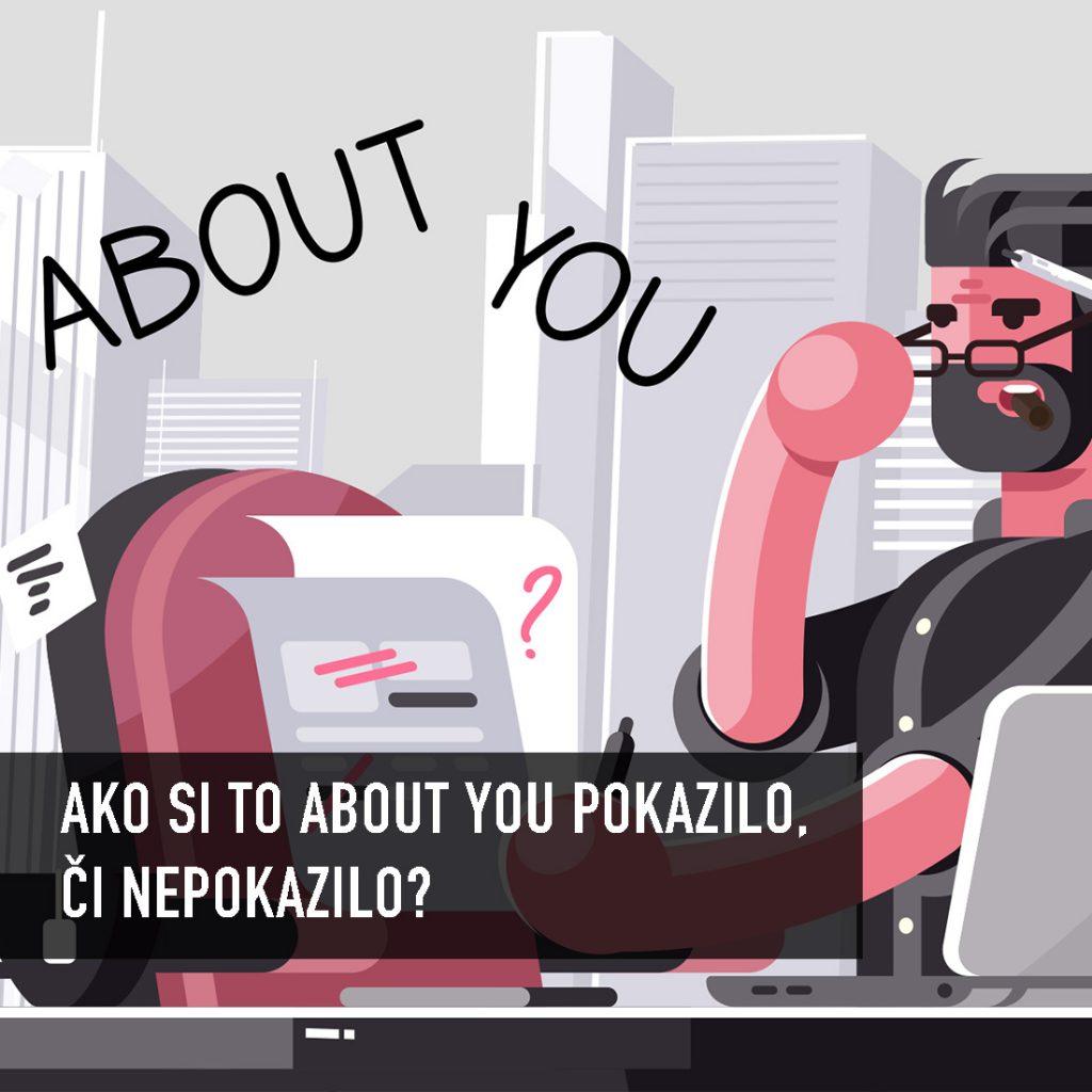 Fail menom About You? Ako pokaziť skrytú virálnu reklamu