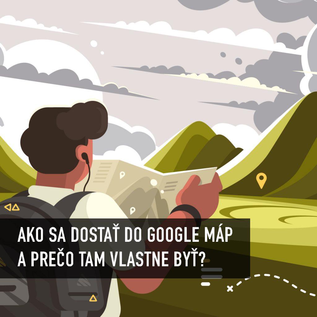 Ako dostať firmu do Google máp