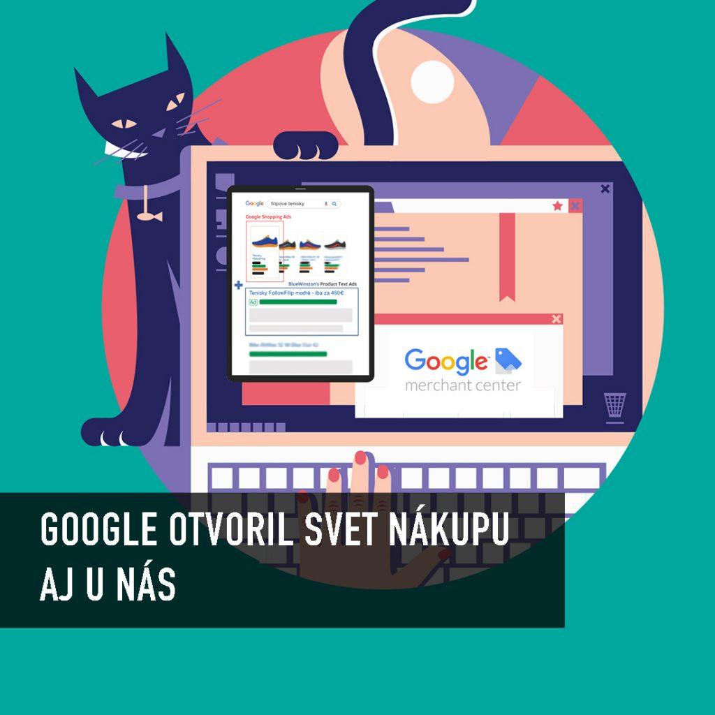 Google nákupy na Slovensku sú tu