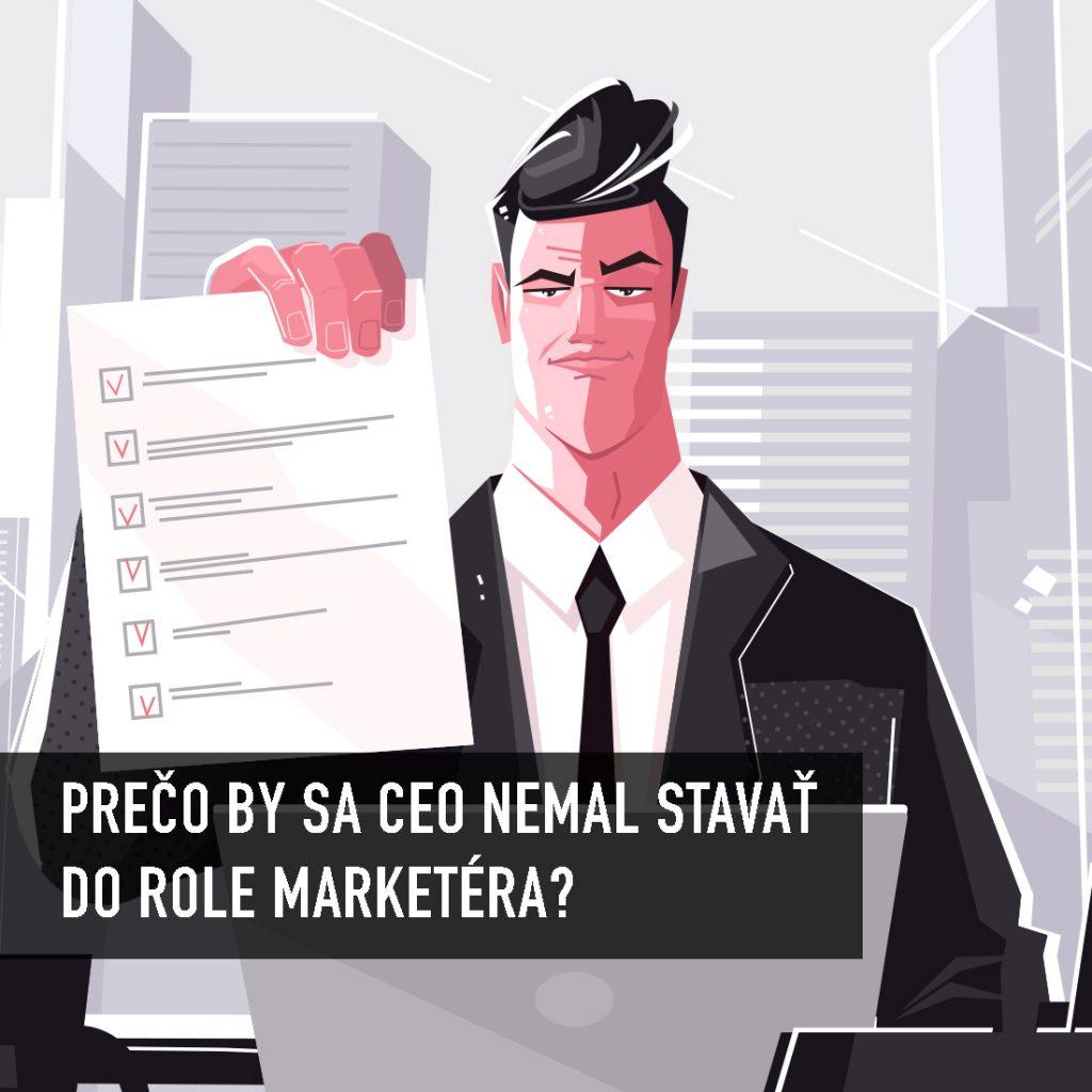 Syndróm slovenského podnikateľa aka samozvaného marketingového riaditeľa