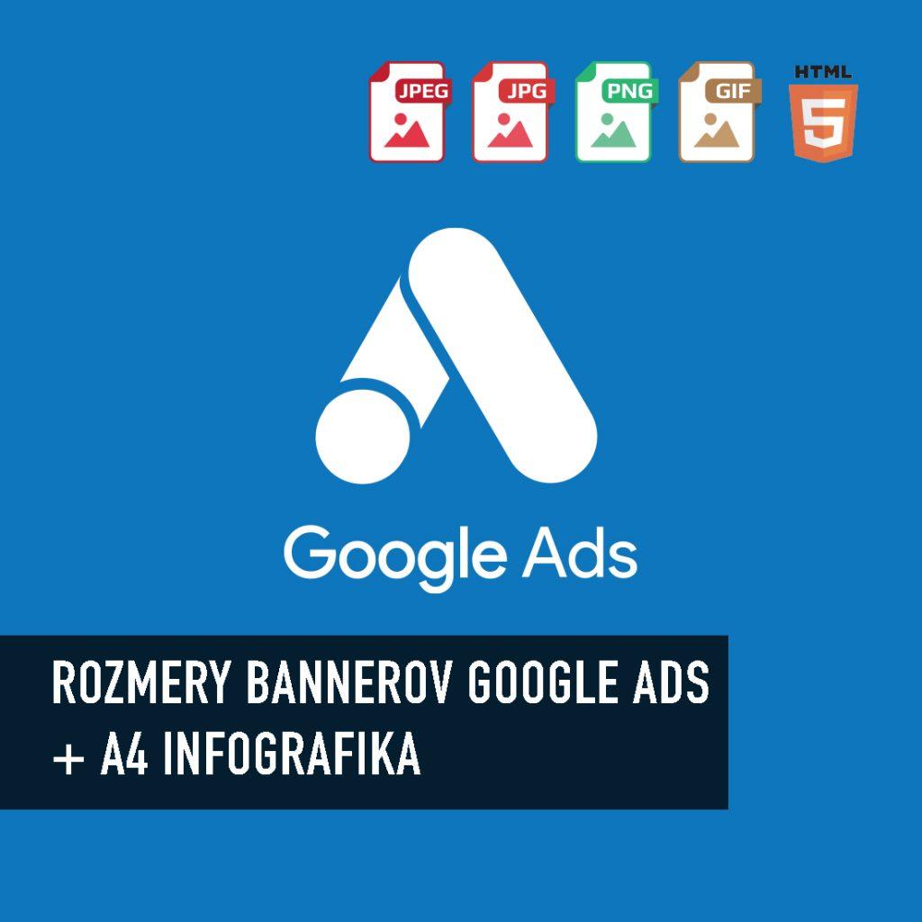 Rozmery Google Ads bannerov pre rok 2019