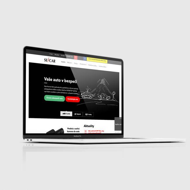 Webstránka secar
