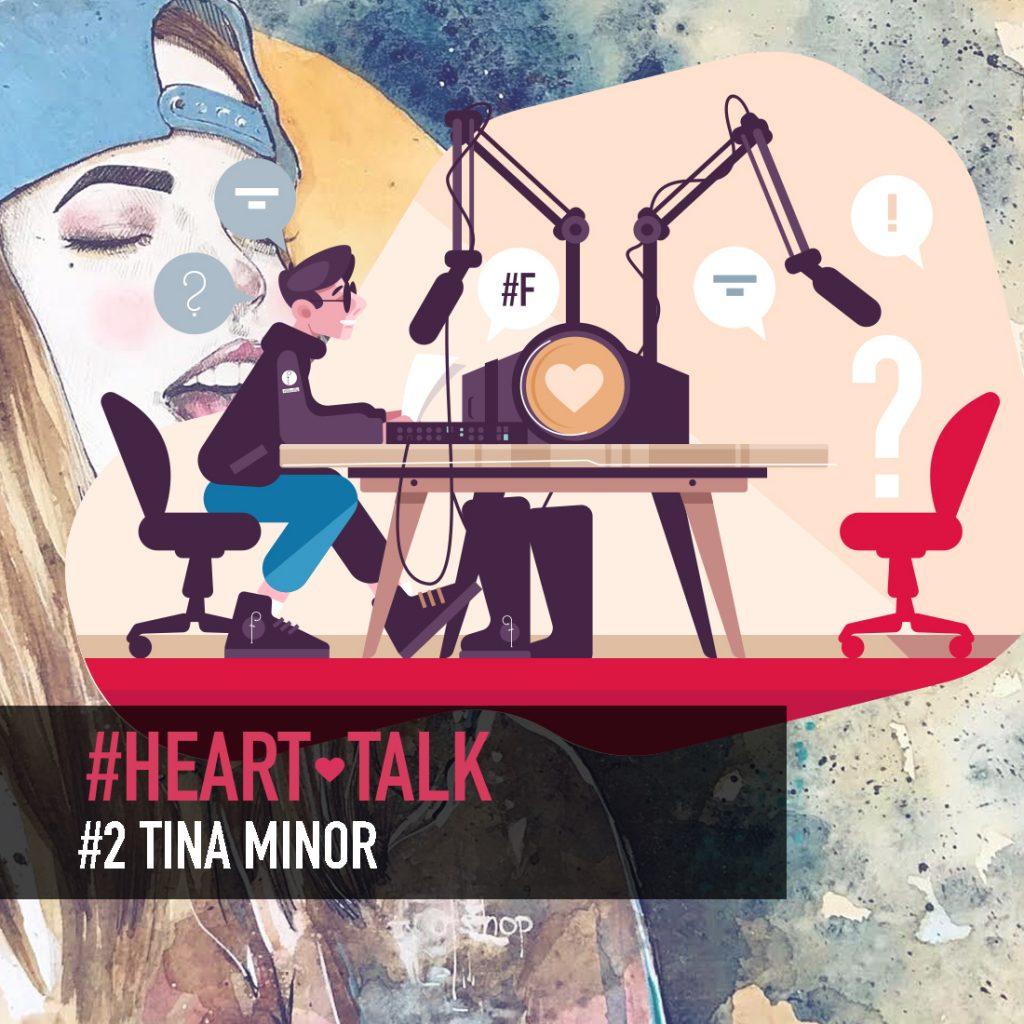 Heart-talk #2 s Tinou Minorovou o ilustráciách